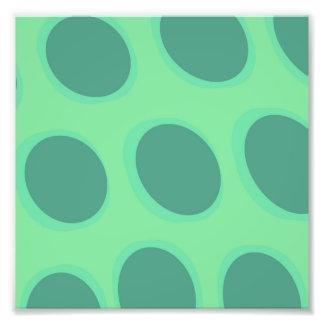 Retro Entwurf des stilvollen bunten Kreises des Fotodruck