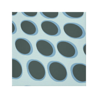 Retro Entwurf des stilvollen bunten Kreises des Leinwanddruck