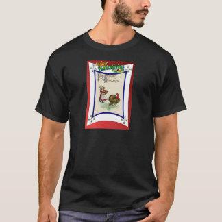 Retro Entwurf Erntedankkleidung T-Shirt