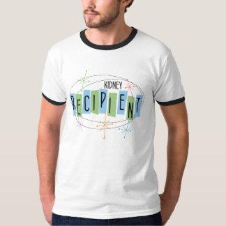 Retro-Entwurf Nieren-Empfänger-T - Shirt