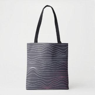 Retro Entwurf, Wellen-Tasche Tasche