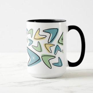 Retro Entwurfs-Kaffee-Tasse Tasse