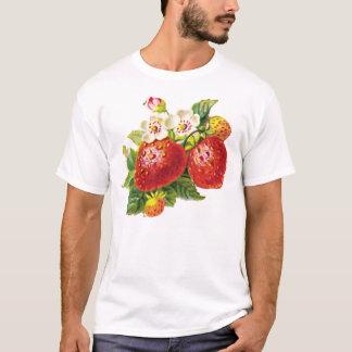 Retro Erdbeere T-Shirt