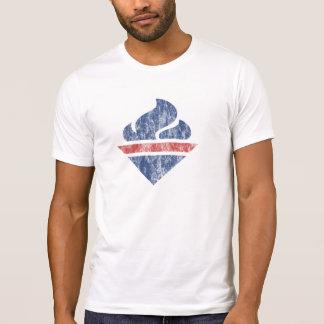 Retro Fackel (zerstört) T-Shirt
