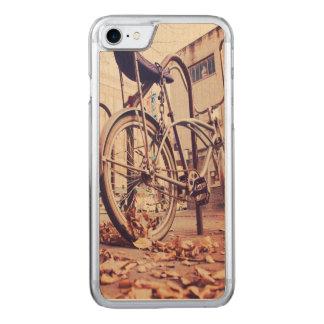 Retro Fahrrad Carved iPhone 8/7 Hülle
