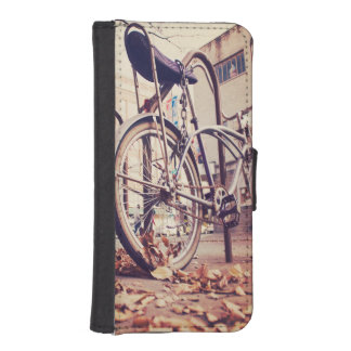 Retro Fahrrad I Phone 5 Portmonee