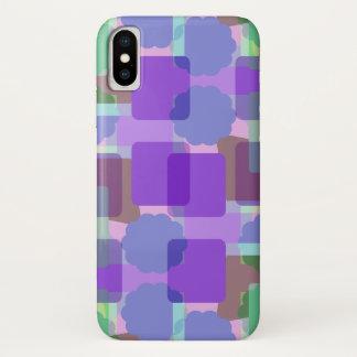 Retro Farben iPhone X Hülle