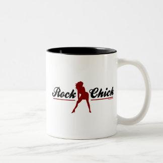 Retro Felsen-Küken Kaffee Tassen