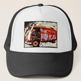 Retro Fernlastfahrer-Hut Truckerkappe