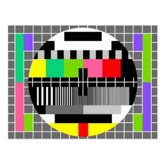 """Retro Fernseh"" Postkarte"