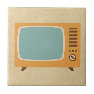 Retro FernsehSet Keramikfliese