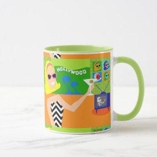 Retro Filmstar-Tasse Tasse
