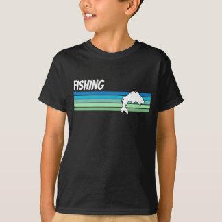 Retro Fischen T-Shirt