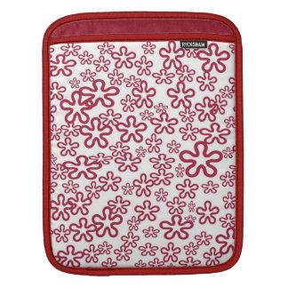 Retro Flowers  -  Rickshaw Schutzhülle iPad Sleeve