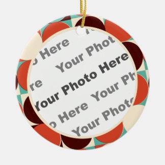Retro Foto-Verzierung Weihnachtsornament