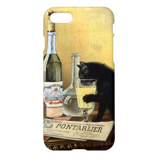 """Retro französischer """"Wermutbürger """" iPhone 7 Hülle"""