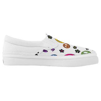 Retro Frieden Slip-On Sneaker