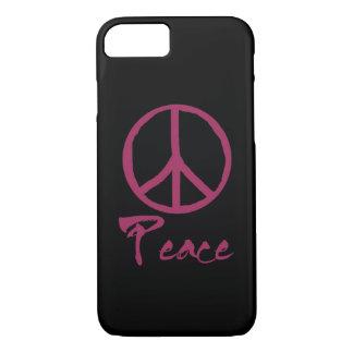Retro Friedenszeichen iPhone 8/7 Hülle
