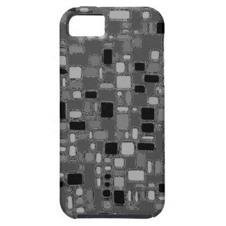 Retro Fünfzigerjahre machen Chrom-Quadrate glatt iPhone 5 Schutzhülle