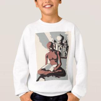 Retro Gandhi Kunst Sweatshirt