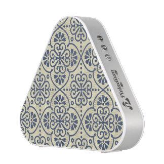 Retro geometrisches dekoratives mit Blumenmuster Bluetooth Lautsprecher