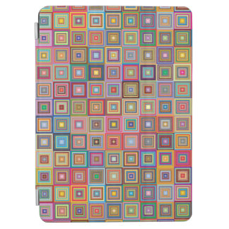 Retro geometrisches Fliesen-Muster iPad Air Cover