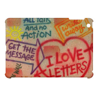 Retro Graffiti-Liebe beschriftet iPad Minifall iPad Mini Hülle