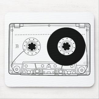 retro grafische Vintage T - Shirtkassette der Mousepad