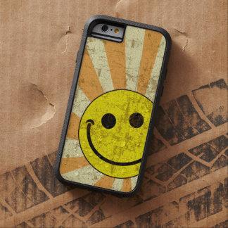 Retro Grungy smiley-Sonnendurchbruch Tough Xtreme iPhone 6 Hülle
