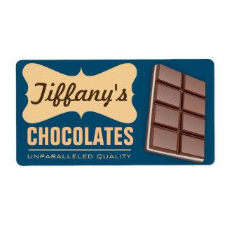 Retro handgemachte Schokoladen des  