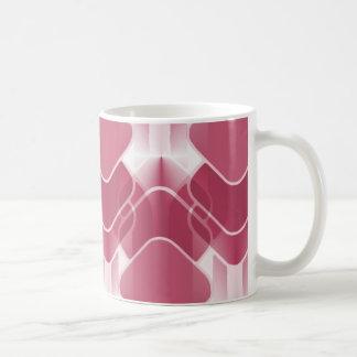 Retro Hipster-Tasse, rosa Tasse