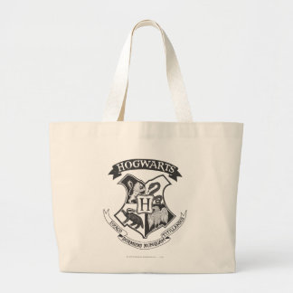 Retro Hogwarts Wappen Harry Potter | Jumbo Stoffbeutel