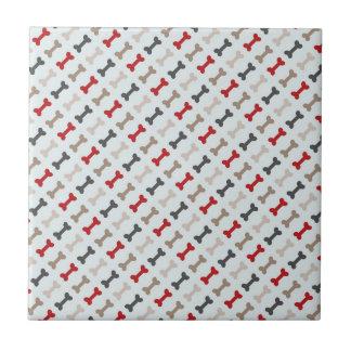 Retro Hundeknochen-Muster Keramikfliese