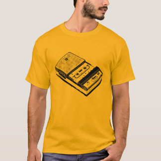 Retro Illustrations-Tonbandgerät-T-Stück T-Shirt