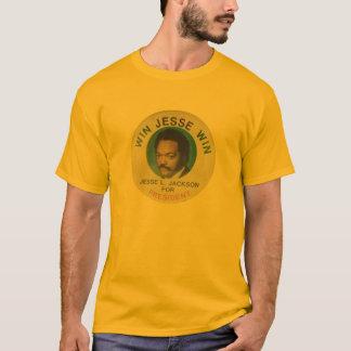 Retro Jesse Jackson für Präsidenten grundlegender T-Shirt