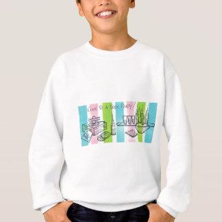 Retro Jugendgeburtstags-Party Sweatshirt
