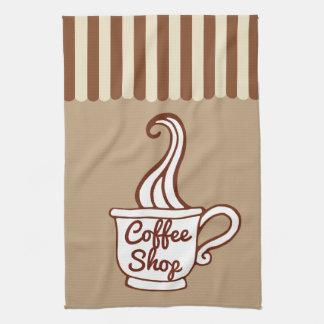 Retro Kaffeestube-Geschirrtuch-Geschenk Küchentuch