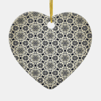 Retro kaleidoskopisches Muster Keramik Ornament