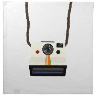 Retro Kamera mit Bügel Serviette