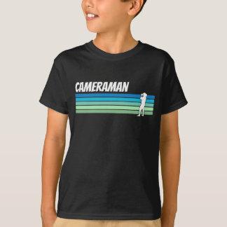 Retro Kameramann T-Shirt