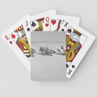Retro Kampfflugzeug-Spielkarten