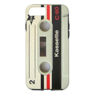 Retro Kassette Geeky nerdy Achtzigerjahre Kassette iPhone 8/7 Hülle