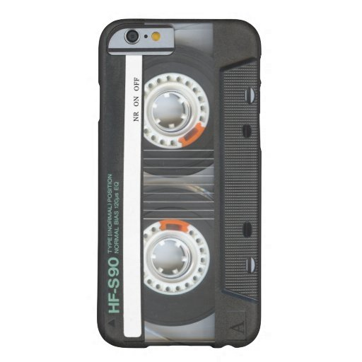 Retro Kassette Barely There iPhone 6 Hülle