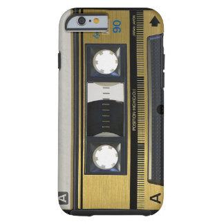 Retro Kassette iPhone 6 Fall Haut-Achtzigerjahre Tough iPhone 6 Hülle