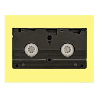 Retro Kassette VHS-Band-Foto Postkarte