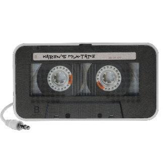 Retro Kassetten-Band-Lautsprecher