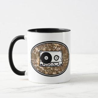 Retro Kassetten-Orange Tasse
