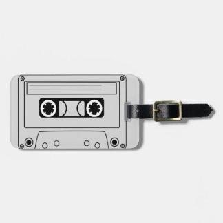 Retro Kassetten-Schmutzmusik Gepäckanhänger