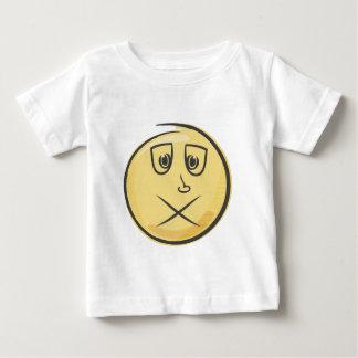 Retro krankes Emoji Baby T-shirt