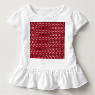 Retro Kreise Gehen-Gehen Kleinkind T-shirt